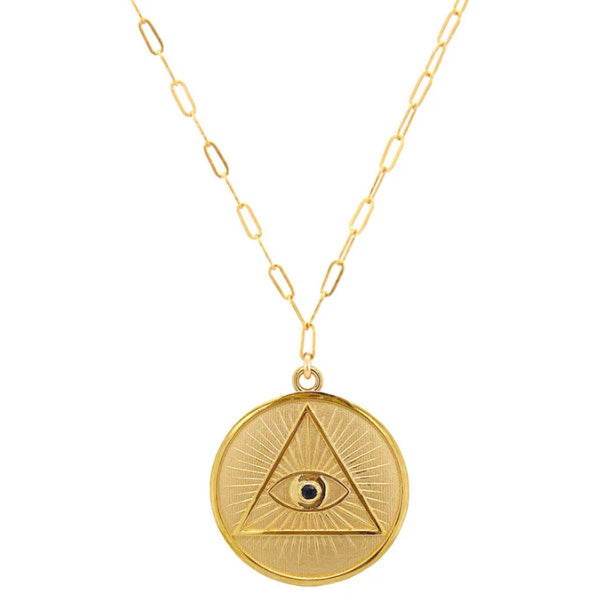 Illuminati Coin Necklace
