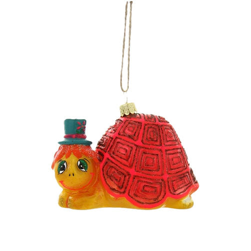 Lazy Turtle Ornament