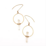 Quartz Balance Earrings