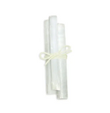 Set of 3 Selenite Crystals