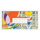 Galison Frank Lloyd Wright Wooden Puzzle