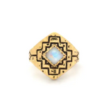 Four Winds Ring | Gold / Moonstone