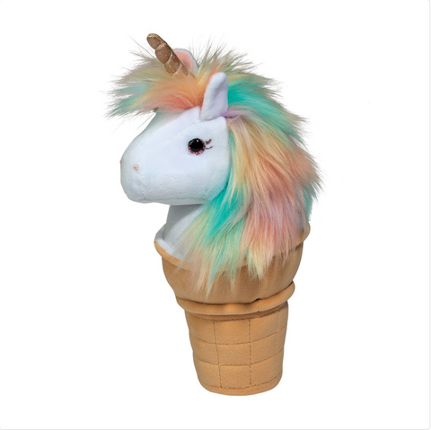 Ice Cream Cone Unicorn Macaroon