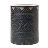 Pattern Ceramic Side Table