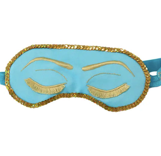 Sparkling Holly Golightly Sleep Mask