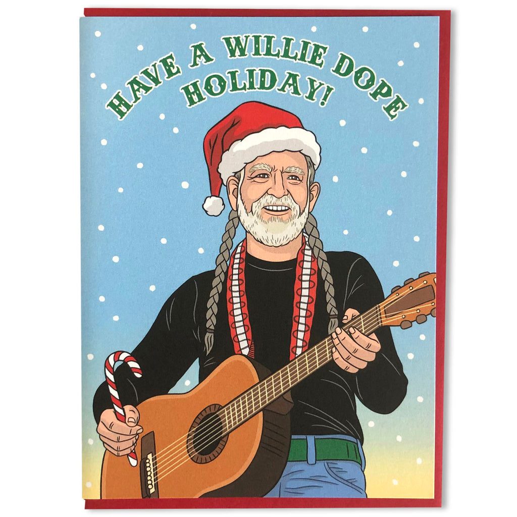 Have a Willie Dope Holiday Card