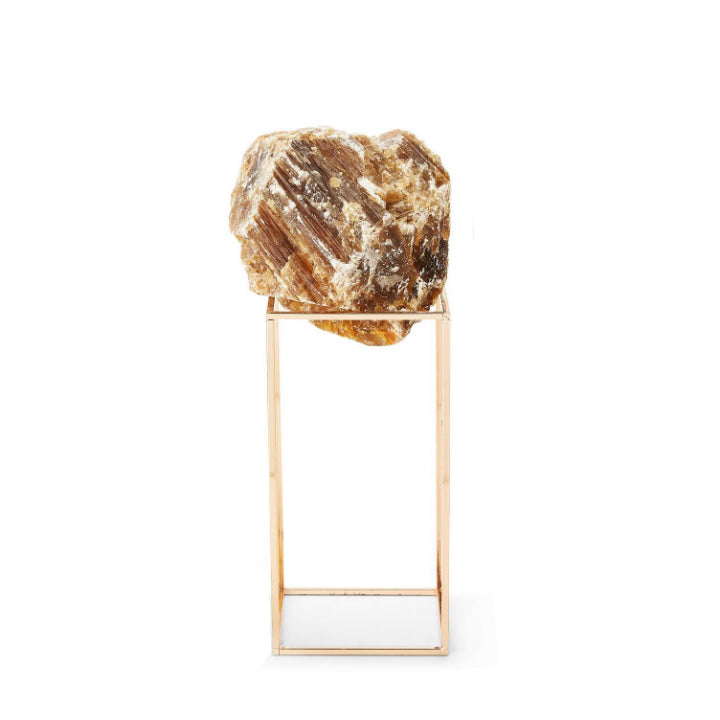 Natural Stones on Metal Stand