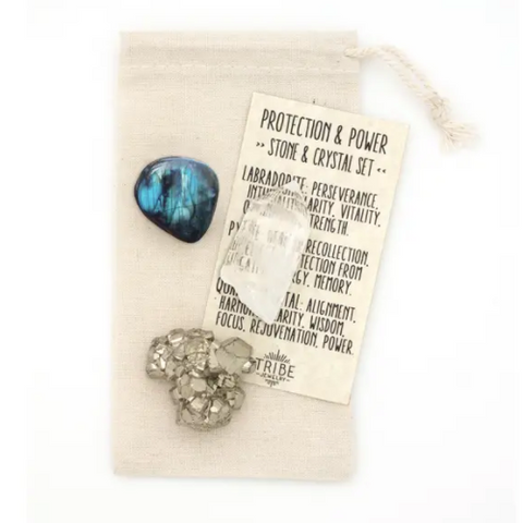 Stones & Crystals for Power & Protection