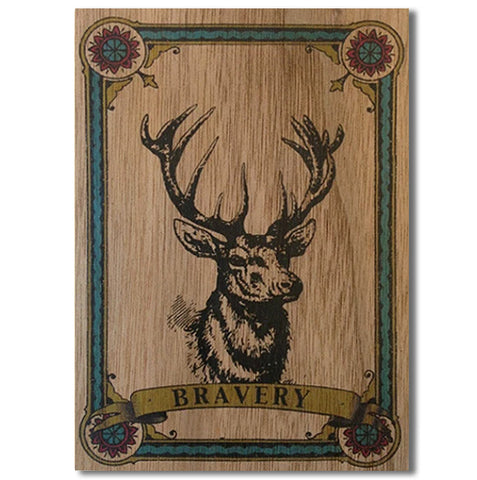 Everyday Wood Card~ Buck
