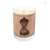 Votive Wood Candles Pictorial Images