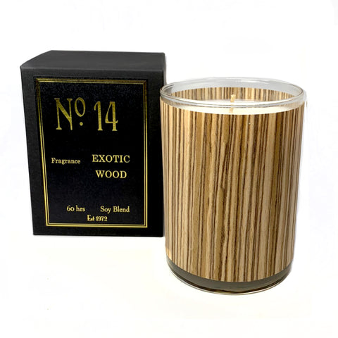 Wood Candle No. 14 Exotic Wood
