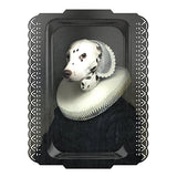 Arthenice Tray IBride, Dalamation in fancy dress, melamine ornate tray