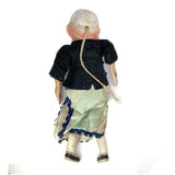 Antique Chinese Composition and Cloth Doll