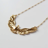 Bandit Necklace Gold Fill Brass