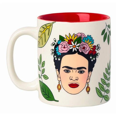 Frida Coffee Mug Artista Mexicana