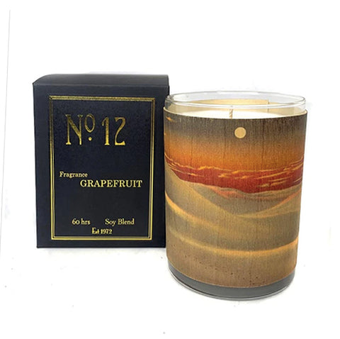 Wood Candle No. 12 Grapefruit
