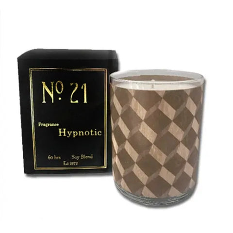 Wood Wrapped Candle No.21 Hypnotic