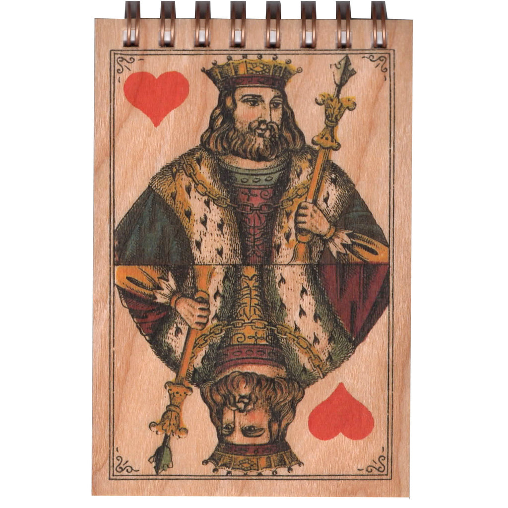 Wood Notepad King Small
