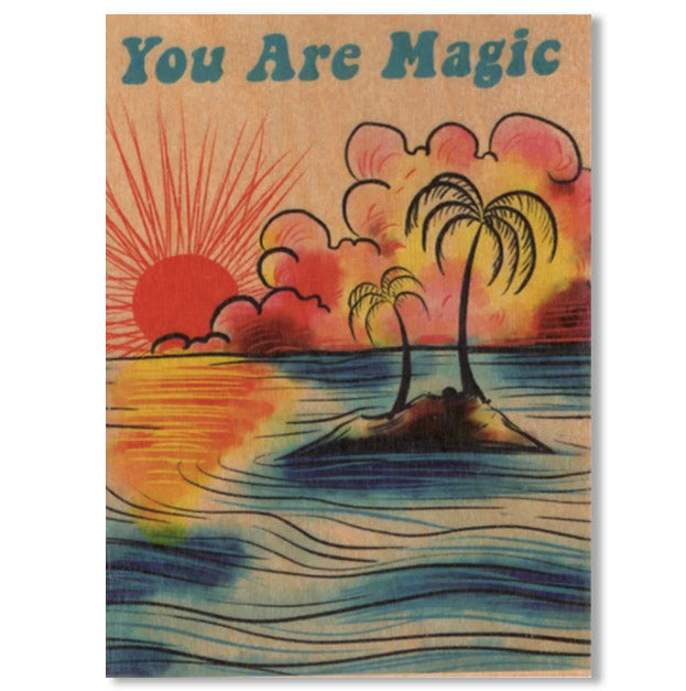 Everyday Folding Card ~ You Are Magic