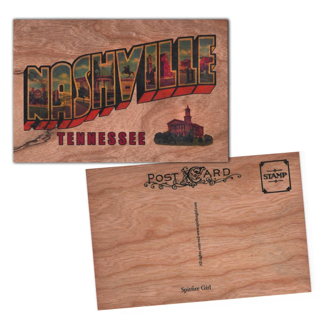 Wood card nashville