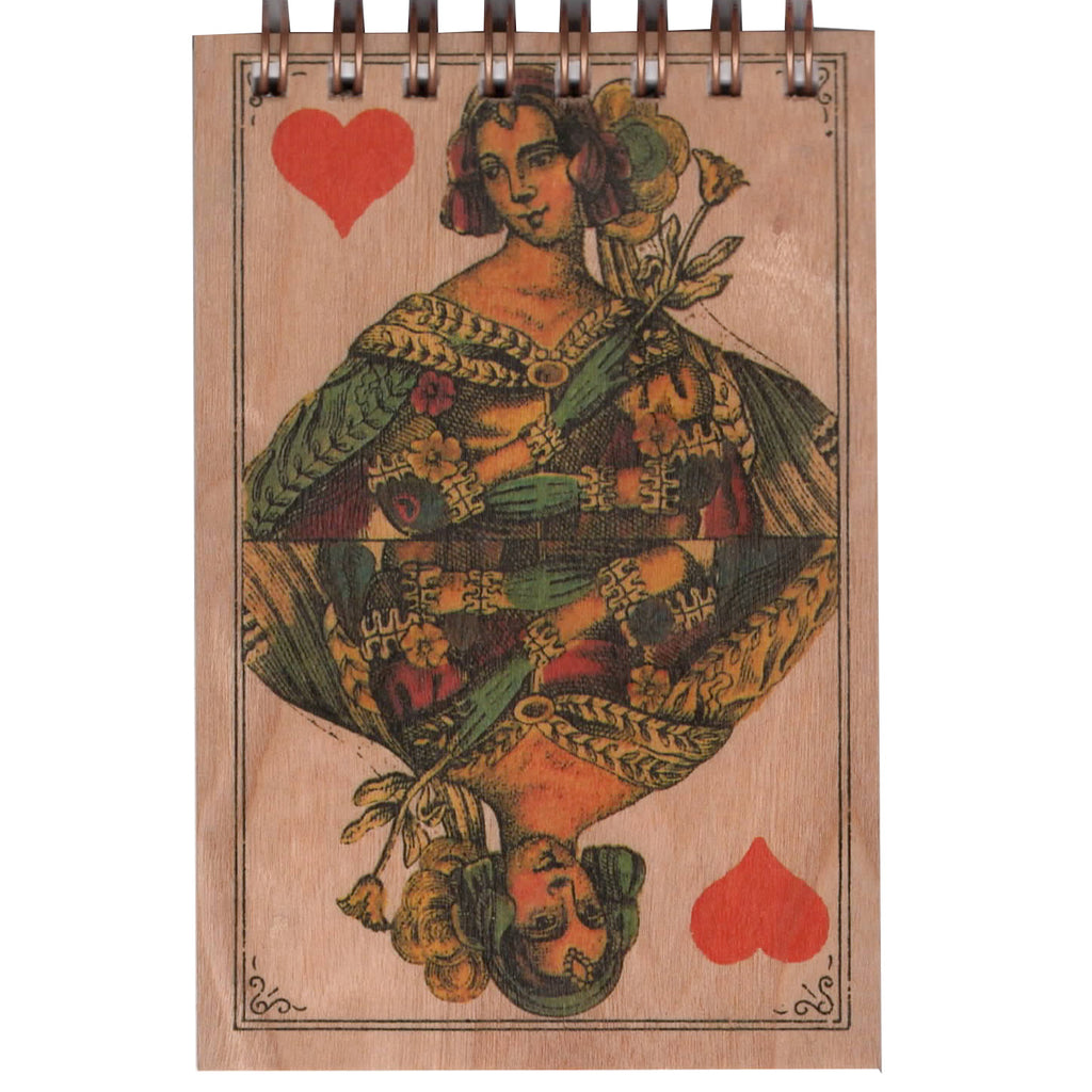 Wood Notepad Queen Small