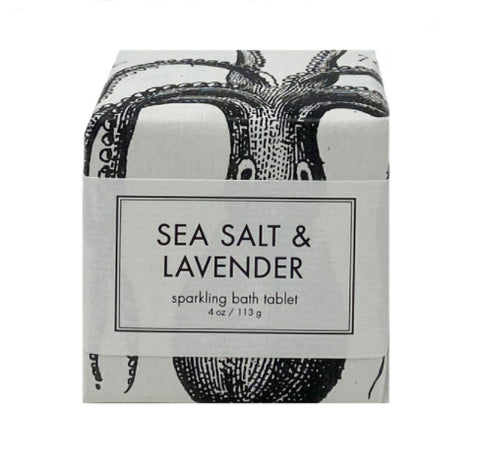 Sparkling Bath Tablet Sea Salt & Lavender