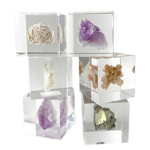 Japanese Sola Cube Minerals