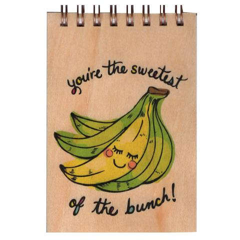 Wood Notepad Sweetest Small