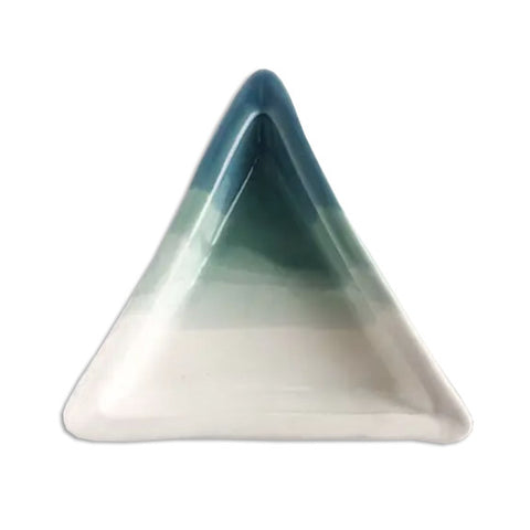 Ceramic Triangle Jewelry Dish