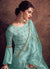 Light Blue Georgette Salwar Suit