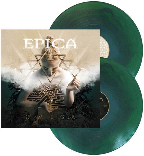 Buy Epica - Omega (Blue/Green Swirl Limited Edition Vinyl)