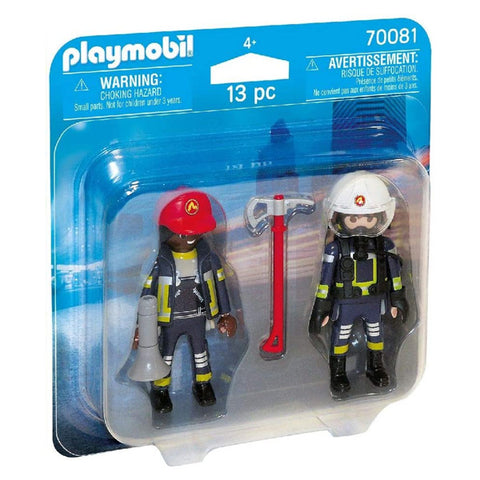 Nuket City Action Firefighters Playmobil 70081 (13 pcs)