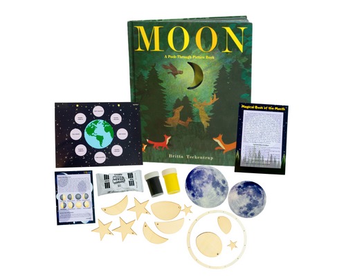 Space Edition: Moon Phase Box