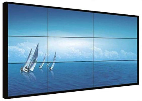 Custom touch frame for video wall