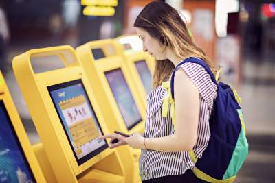 Touch screens for kiosks