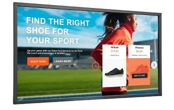 Large Touch Display
