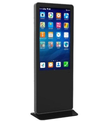 Standing Kiosk Touch Screen Display