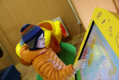 Touch screens for education