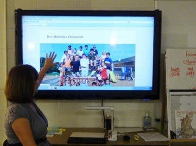Touch screen for classroom