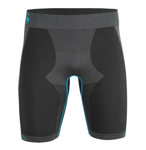 Mens Seamless Base Layer Functional Short - cottonpremierr