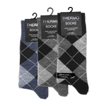 3 Pairs Men Warm Thermal Socks, Thick Acrylic, Big Foot Winter - cottonpremierr