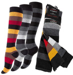 3 or 6 Pairs Ladies, Girls Over-the-Knee Socks - cottonpremierr
