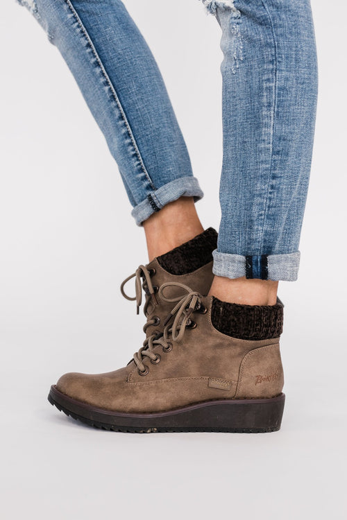 Blowfish Comet Booties- Taupe
