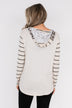 A New Adventure Leopard Hoodie- Neutral Tones