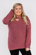 Dance The Day Away Criss Cross Top- Mauve