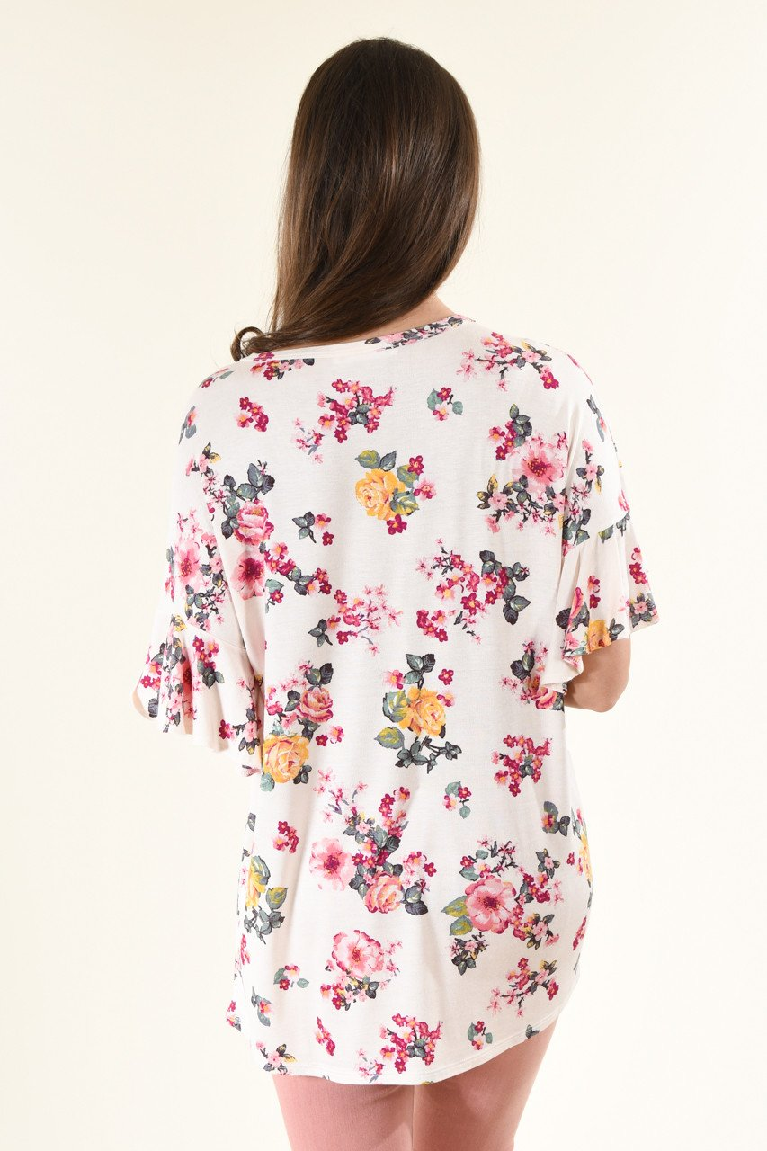 Love Worth Keeping Floral Top
