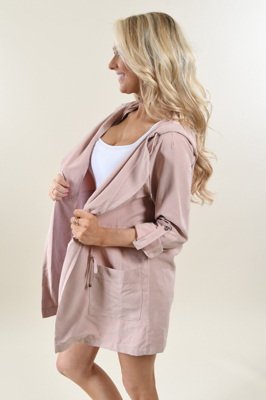 Spring Jacket ~ Light Blush