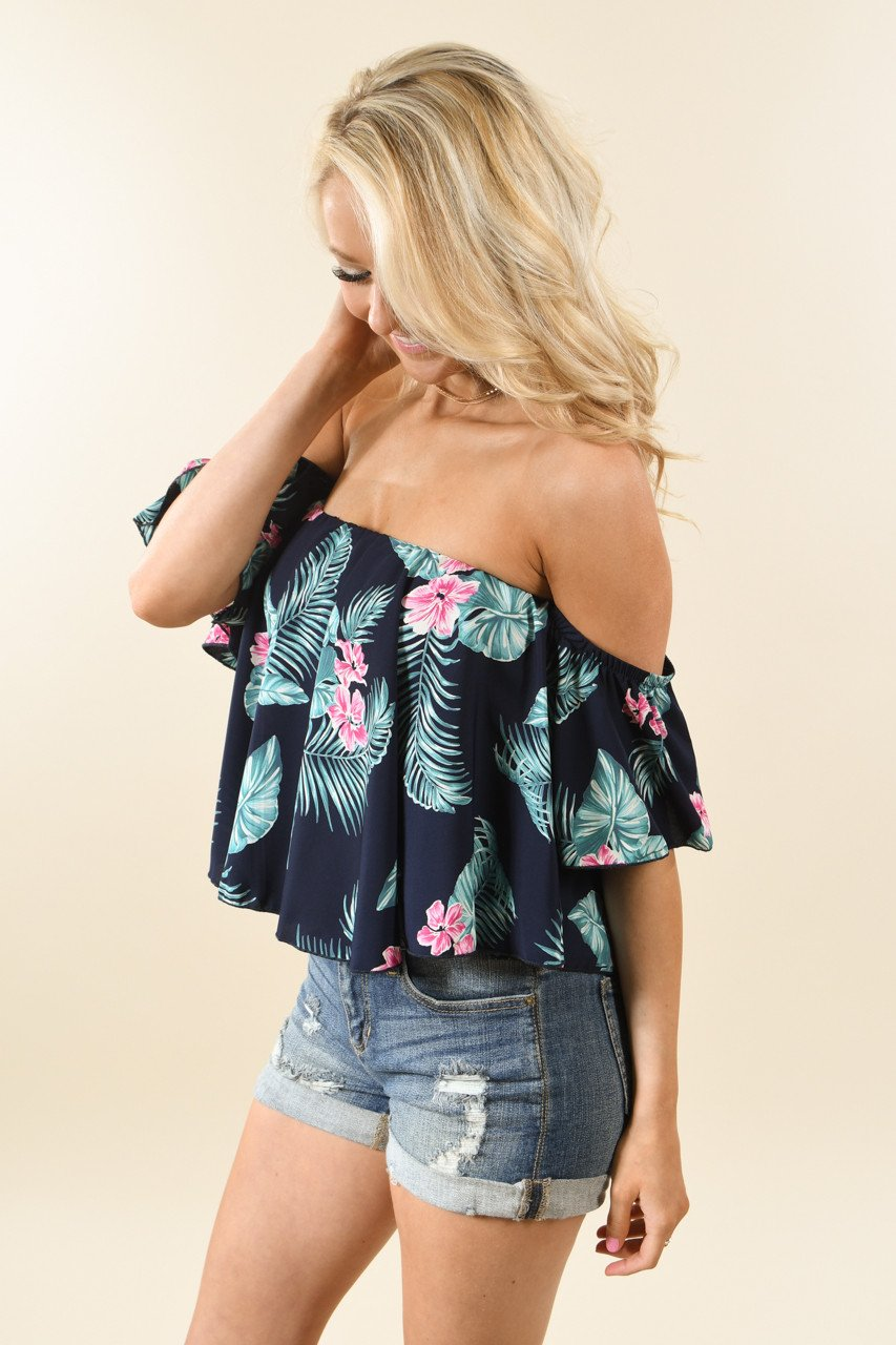 Palm Crop Top