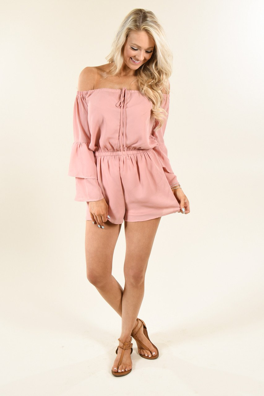 Show a Little Shoulder Romper