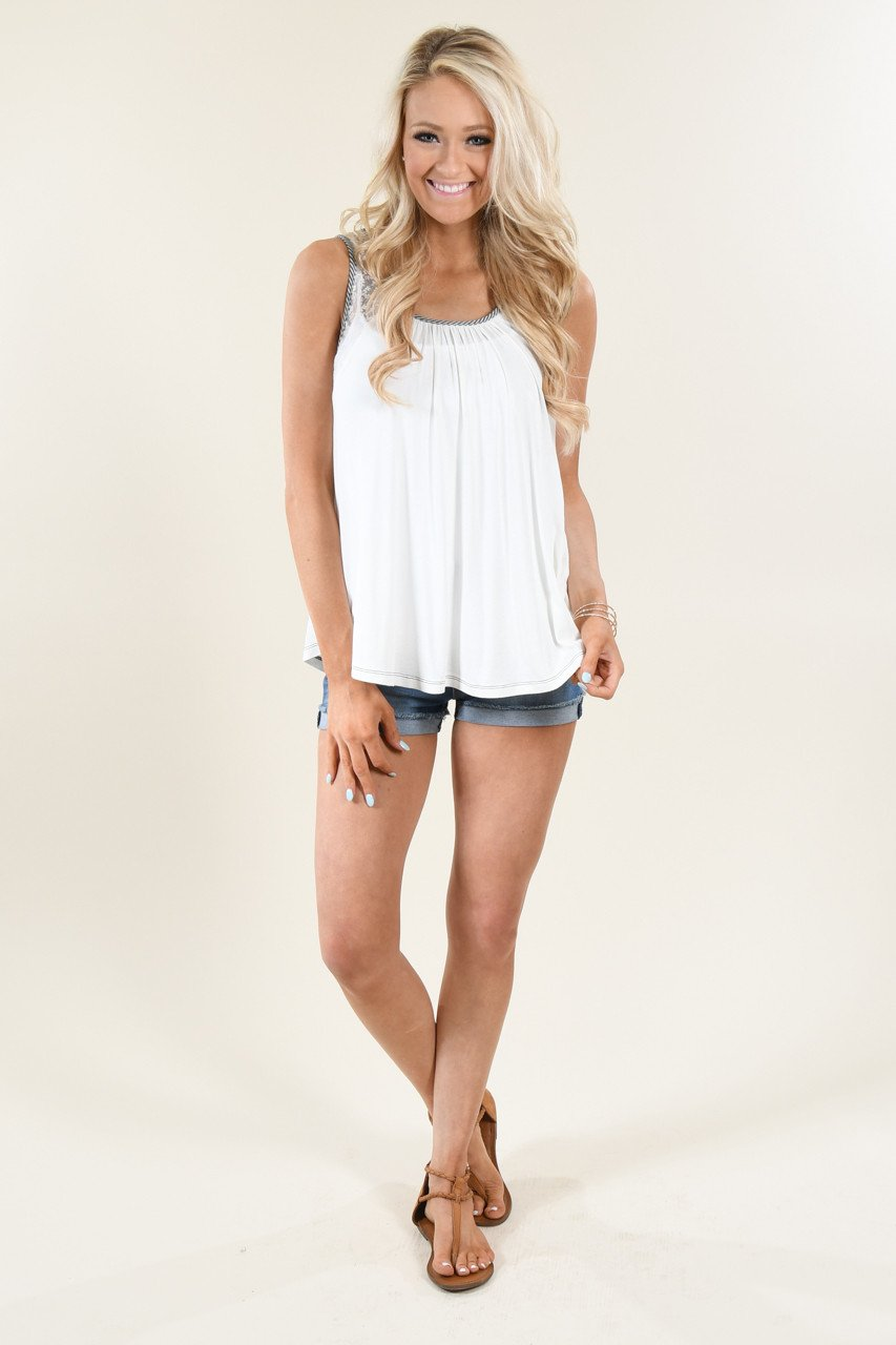 It's in the Details Ivory Tank